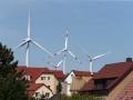 Windräder über Rositz