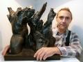 Thomas Suchomel Ausstellungseröffnung im Renaissanceschloß in Ponitz 2014