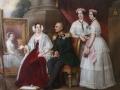 Gemälderepro - Herzog Josef und Familie