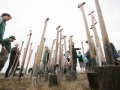 Mibrag-Pflanzaktion im ehemaligen Tagebau Peres